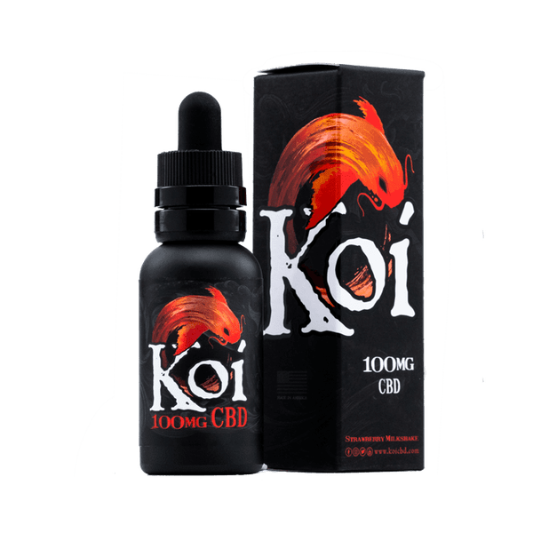 KOI CBD 100MG Vape E-Juice 30ML TINCTURE E-Liquid-CBD Vape-fourseasons-trade