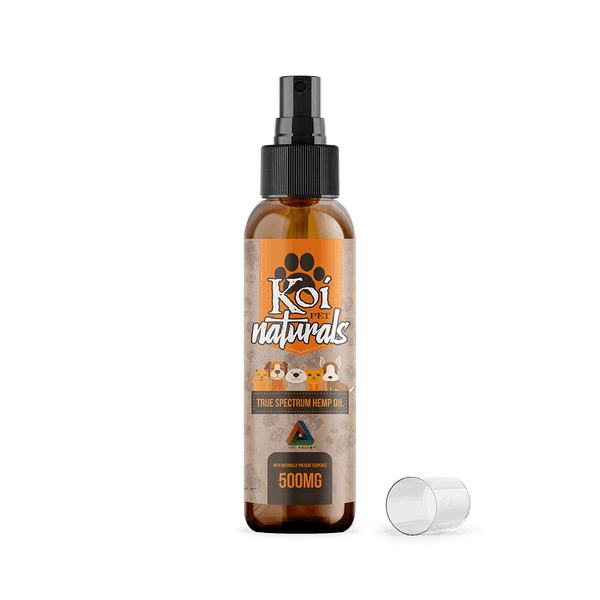 KOI CBD Full Spectrum Pet Spray 500 MG-Hemp CBD-fourseasons-trade
