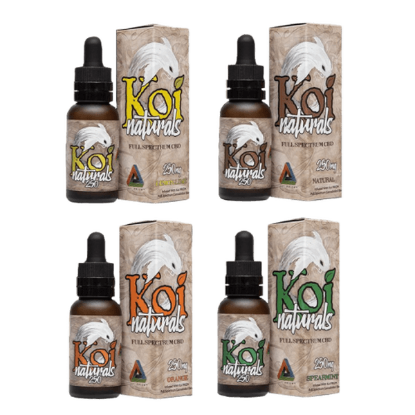 KOI Natural 30ML CBD Tincture 250 MG-CBD Tinctures-fourseasons-trade