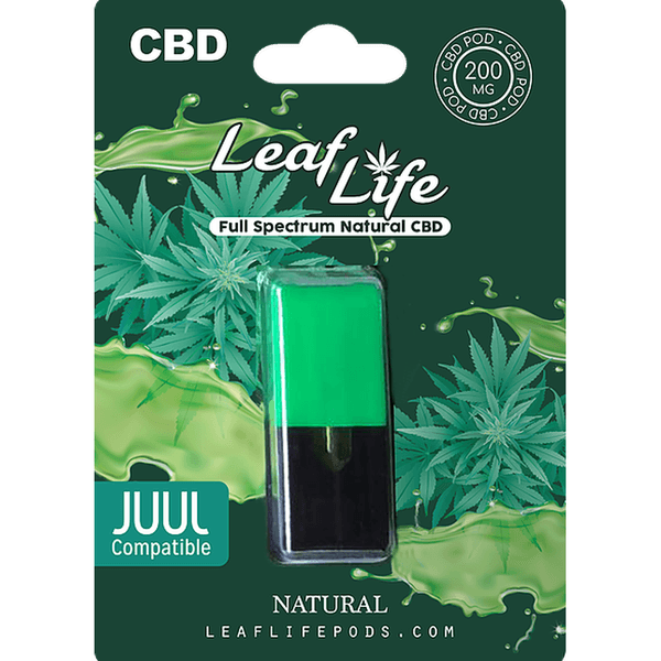 Leaf Life 200 MG CBD Pods-Hemp CBD-fourseasons-trade