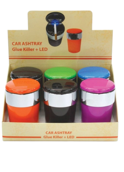 LED ASHTRAY - #70340 - ASSORTED COLORS