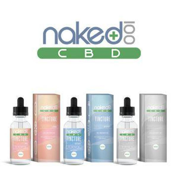 Naked100 1200mg and 600mg Full Spectrum CBD Tincture 60ML-CBD Tinctures-fourseasons-trade