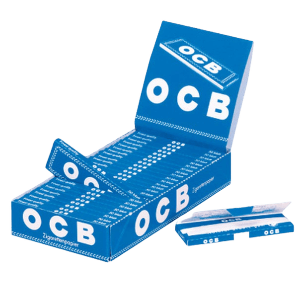 OCB BLUE single wide rolling paper 69mm-Tobacco Paper-fourseasons-trade