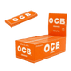 OCB ORANGE ROLLING PAPERS - 50 in BOX