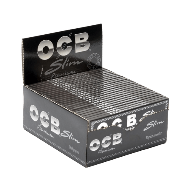 "OCB Slim Premium "" 32 Leaves Each Pack ""Rolling Papers - 50 in Box-Tobacco Paper-fourseasons-trade"