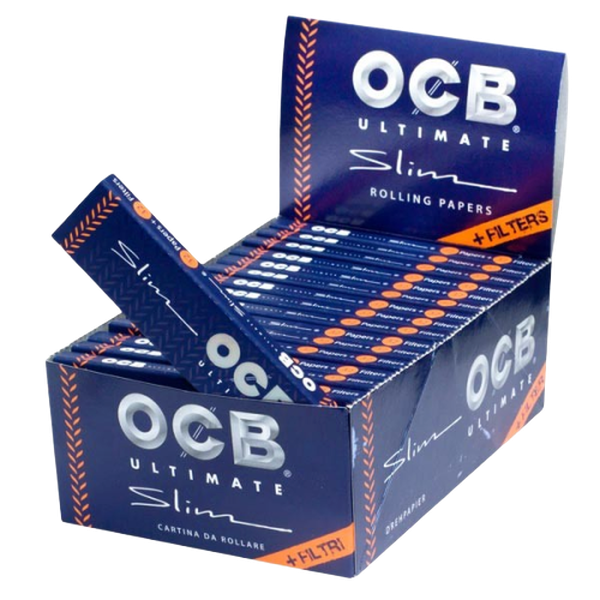 OCB Ultimate Slim + Filter Papers - 32 in Box-Tobacco Paper-fourseasons-trade