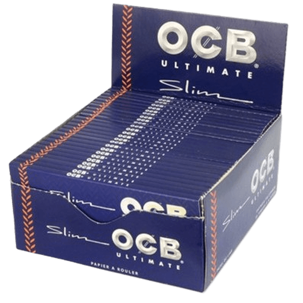OCB ULTIMATE SLIM ROLLING PAPERS - 50 in BOX-Tobacco Paper-fourseasons-trade
