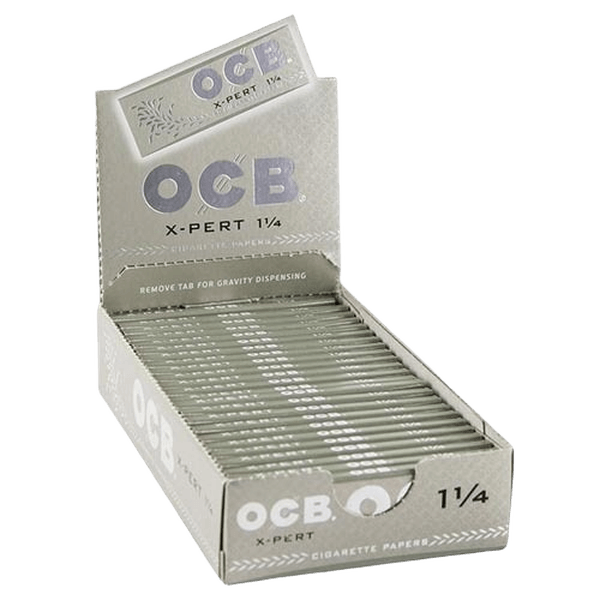 OCB X-PERT 1 1/4 ROLLING PAPERS- 24 in BOX-Tobacco Paper-fourseasons-trade