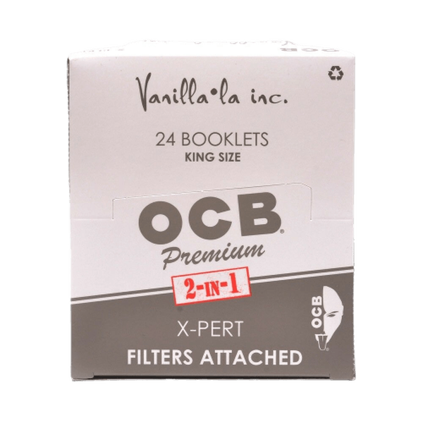 OCB X Pert Size With Tips ( 32 Papers Each Pack ) Rolling Paper-Tobacco Paper-fourseasons-trade