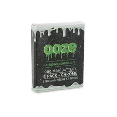 OOZE 900 MAH 3.7V BATTERY WITH 20 SECOND PREHEAT SYSTEM - PACK OF 5-510 Batteries-fourseasons-trade