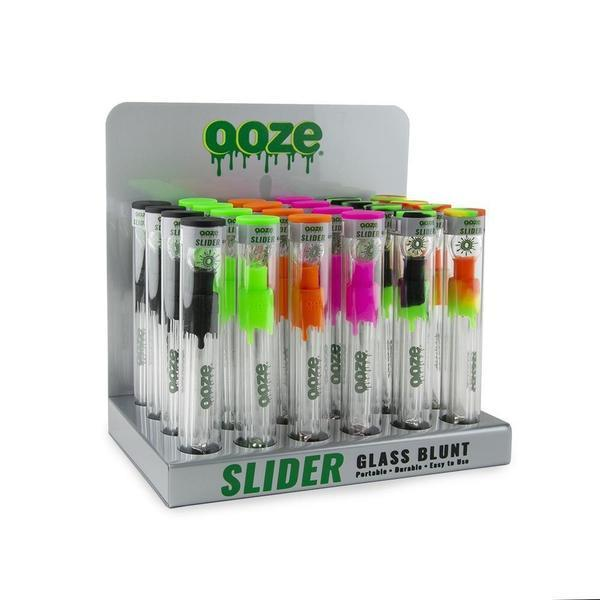 OOZE Slider Glass Blunt Display-Hand Pipe-fourseasons-trade