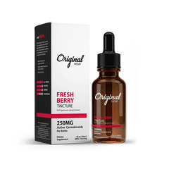 ORIGINAL CBD HEMP TINCTURE | Full Spectrum Hemp Extract (30mL)-CBD Tinctures-fourseasons-trade