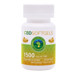 "Pure Hemp Botanicles ""CBD SOFTGELS""-CBD Tinctures-fourseasons-trade"