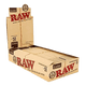 "RAW 12"" Rolling Papers Classic Supernatural Unrefined - Pack of 20"
