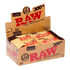 RAW CLASSIC And ORGANIC HEMP Natural Papers 300s 1 1/4 - Bloc Box of 40-Tobacco Paper-fourseasons-trade