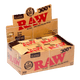 RAW CLASSIC And ORGANIC HEMP Natural Papers 300s 1 1/4 - Bloc Box of 40
