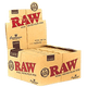 Raw Classic Connoisseur King Size Slim with Tips Rolling Paper - 24 Packs in Box