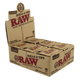 RAW CLASSIC KING SIZE ROLL 3 METER ROLLS And 30 PRE-ROLLED TIPS
