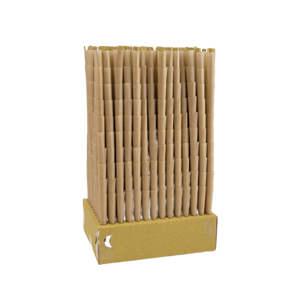 RAW Classic Natural Unrefined Pre Rolled Cones - 98 Special Size - 1400 Cones Per Box-Tobacco Cones-fourseasons-trade