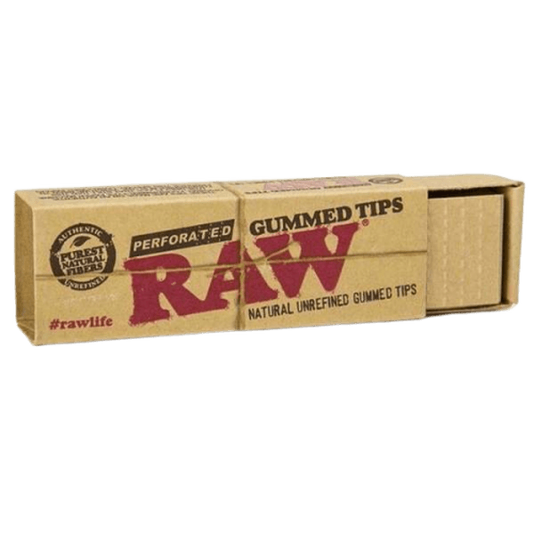 RAW GUMMED TIPS 33ct - 24 PER BOX-Tips-fourseasons-trade