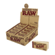 RAW HEMP & COTTON PERFORATED TIPS - 50 CT PER BOX