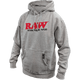 RAW MEN'S OG HOODIE HEATHER GRAY XL