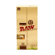 RAW ORGANIC HEMP Rolling Papers 1 1/2 Size - 25 in BOX-Tobacco Paper-fourseasons-trade