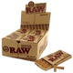 RAW PRE-ROLLED CONE TIPS PERFECTO CONICAL - 20 IN BOX