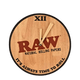 Raw Rolling Paper Limited Edition Wooden Wall Clock Includes