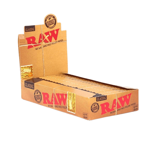 "Raw Rolling Papers Classic 1 1/4"" - 24 units-Tobacco Paper-fourseasons-trade"