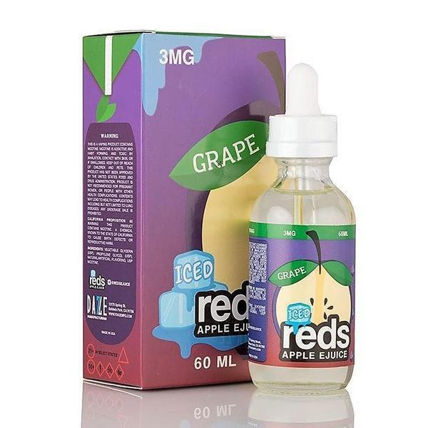 Reds Iced Apple Juice 60ml-E-Liquid-fourseasons-trade