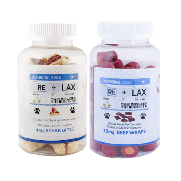 RELAX CBD 100mg Pet Treats For DOG AND CAT-CBD For Pets-fourseasons-trade