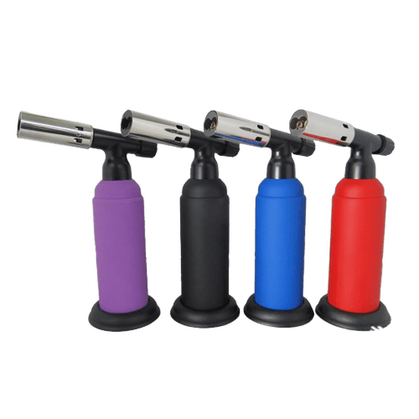 SCORCH TORCH 2T DOUBLE FLAME BUTANE TORCH - 8 INCHES - ASSORTED COLOR-Torches-fourseasons-trade