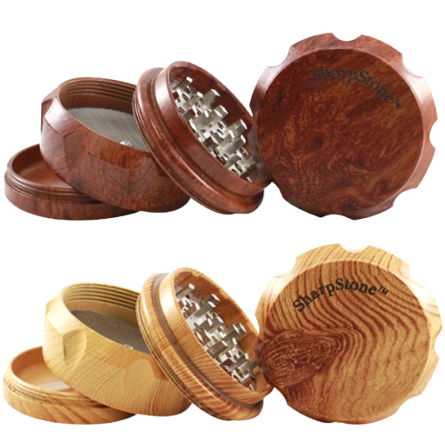 SHARPSTONE WOODEN GRINDER 4 PARTS - PRICE PER PIECE