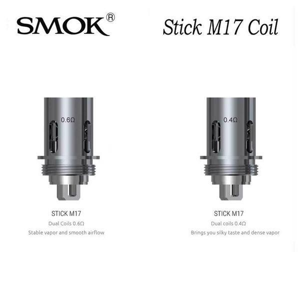 SMOK M17 REPLACEMENT COILS FOR STICK M17 AIO KIT - PACK OF 5-Vape Coils-fourseasons-trade