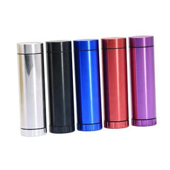 Smoking Pipes One Hitter Dugout Aluminum Herb Grinder Dugout - Assorted Colors-Metal Dugout-fourseasons-trade