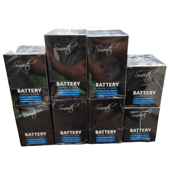 Smooth Battery Compatible 510 Threads Temperature Control - 12 in Box-510 Batteries-fourseasons-trade