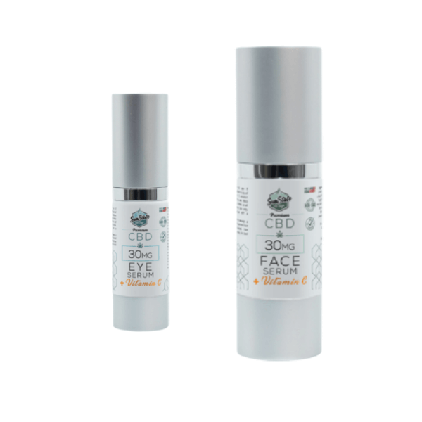 SUN STATE CBD EYE AND FACE SERUM - 30MG-CBD Topicals-fourseasons-trade