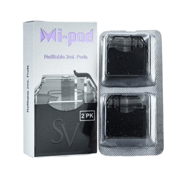 SV Mi-Pod Replacement Vape Pod Cartridges (2-Pack)-Replacement Pods-fourseasons-trade
