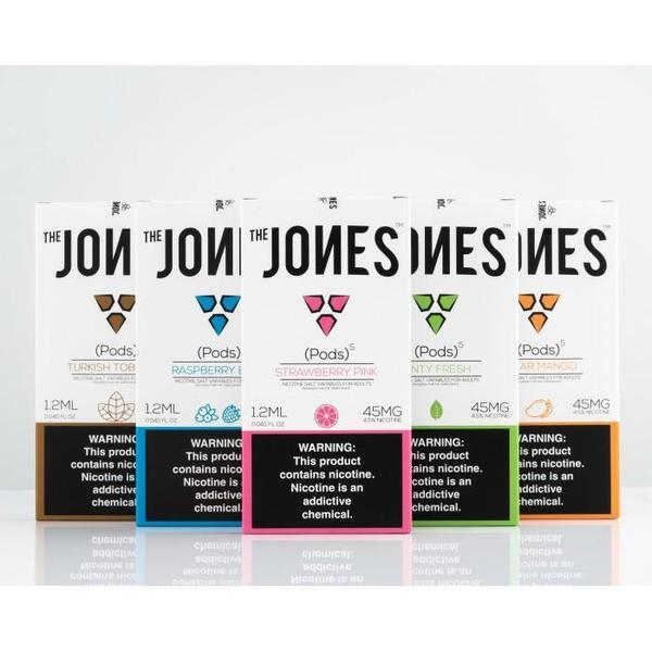 The Jones Pods | 1.2mL JUUL Compatible Pre-Filled E-Liquid Cartridges (5 Pack)-Pods-fourseasons-trade