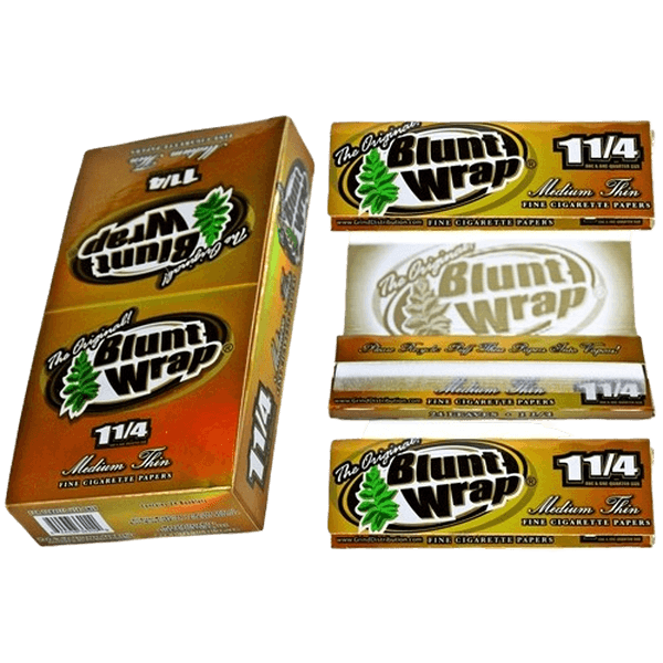 The Original Blunt Wrap Rolling Paper 1 1/4 Size - 24 in Box-Tobacco Paper-fourseasons-trade