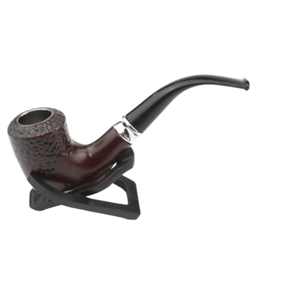 TOBACCO PIPE 30377 High Quality Wood Look Pipe-Wood Pipe-fourseasons-trade