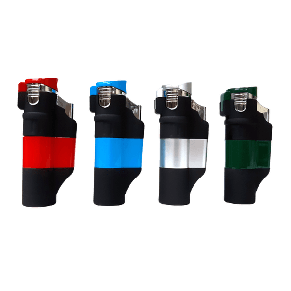 Triple Touch Lighter Butane Refillable 93040 - Assorted Colors-Lighter-fourseasons-trade