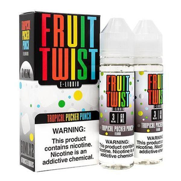 TROPICAL PUCKER PUNCH - FRUIT TWIST E-LIQUID - 120ML-E-Liquid-fourseasons-trade