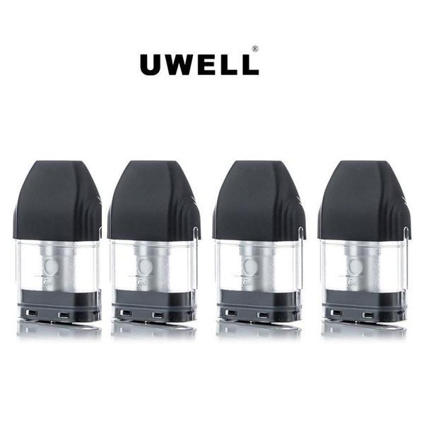 UWELL CALIBURN 2ML REFILLABLE REPLACEMENT POD CARTRIDGE - PACK OF 4-Replacement Pods-fourseasons-trade