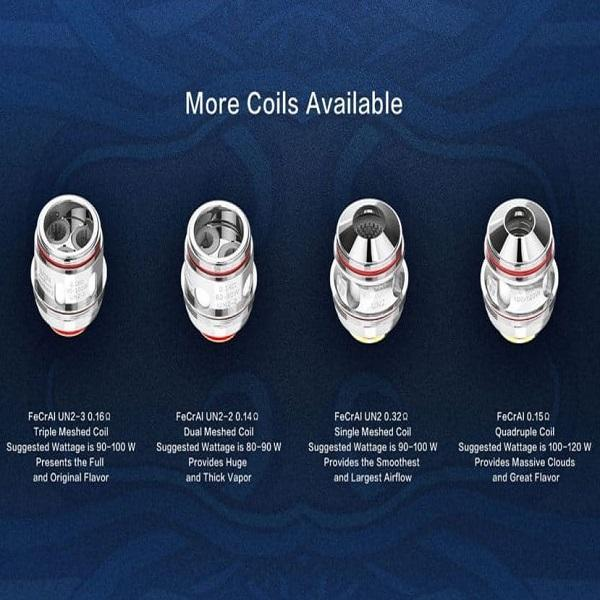 UWELL VALYRIAN 2 REPLACEMENT COILS - PACK OF 2-Vape Coils-fourseasons-trade
