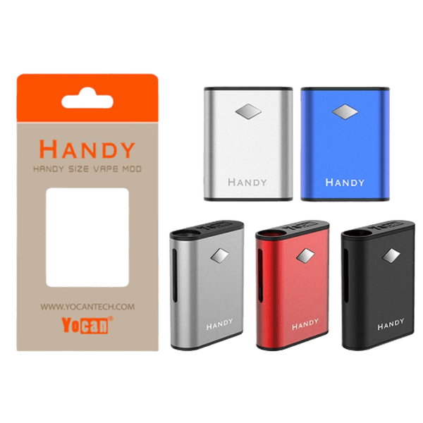 YOCAN HANDY 500MAH VARIABLE VOLTAGE BOX MOD VAPORIZER - ASSORTED-Vaporizer-fourseasons-trade