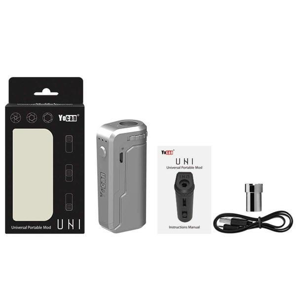 YOCAN UNI PORTABLE BOX MOD 650MAH VARIABLE VOLTAGE BOX MOD KIT - ASSORTED COLOR-Box Mods-fourseasons-trade