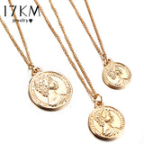 Vintage Coin Pendant Necklace