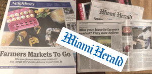 Cover Story at Miami Herald Neighbors News